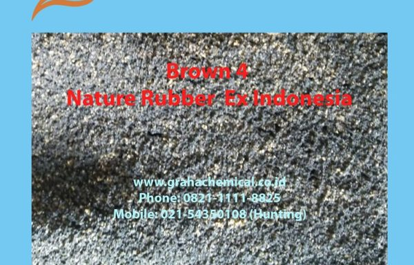 Brown 4 – Natural Rubber ex Indonesia