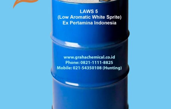 LAWS 5 (Low Aromatic White Sprite) Ex Pertamina Indonesia