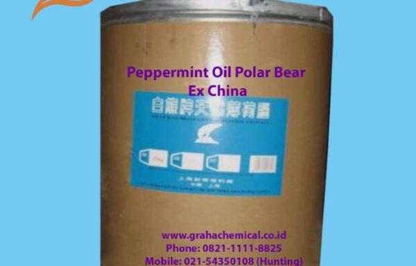 Peppermint oil polar bear ex China