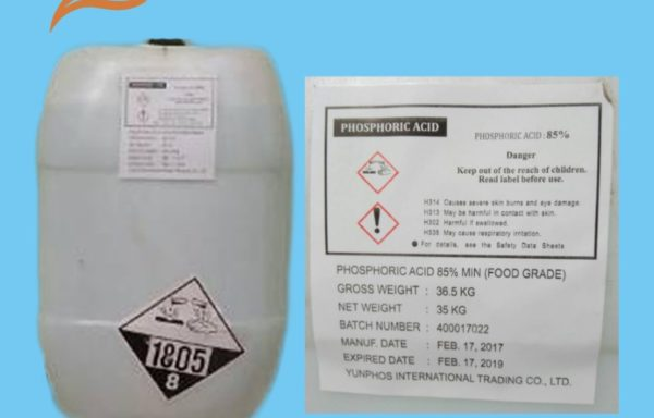 Phosphoric Acid Food & Technical Grade China