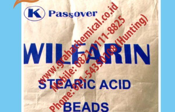 Stearic Acid Beads Wilfarin Ex Indonesia